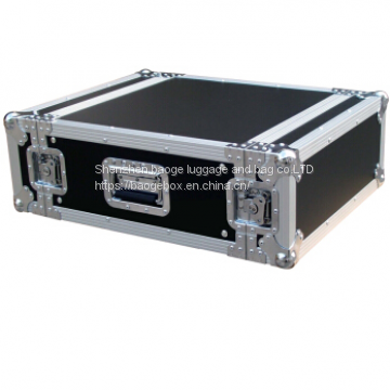 Red Flight Case Aluminum Cable Professional Trolley Flight Case