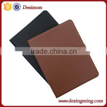 Handmade Genuine leather book case back cover for apple ipad mini 2