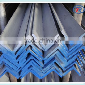 MS black/galvanized Steel Angle bar, equal Angle Steel