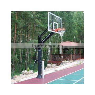 Adjustable Height Basketball Hoops/Stands