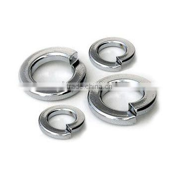 M2.3X4.3X0.7 black znic plating spring steel washer