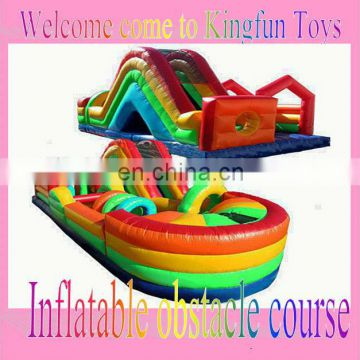Multi use inflatable obstacle course sport