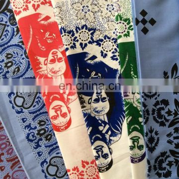 POLYESTER PIGMENT PRINTED FABRICS WITH A LOW PRICE