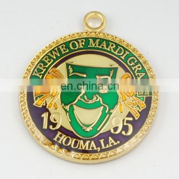 Top sell factory price custom sport medal Gold Silver Antique Plating Medallion