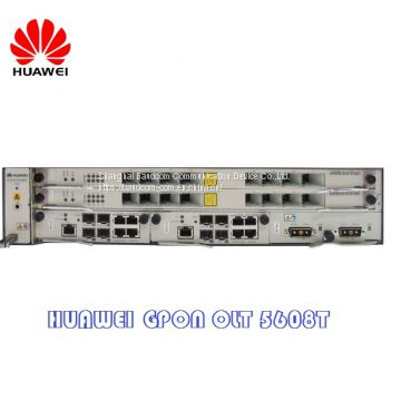New Original 2U Huawei GPON OLT MA5608T of HUAWEI device from China
