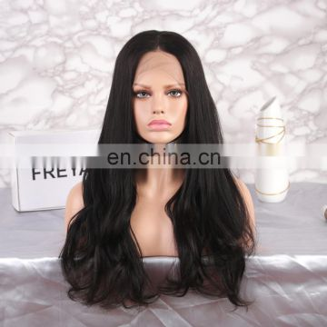 Cheap human hair full lace wigs with bangs natural hair wigs
