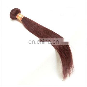 Top quality cheap hair extensions colored 99J# indian hair weaving 100% real human hair products no mixed fibre