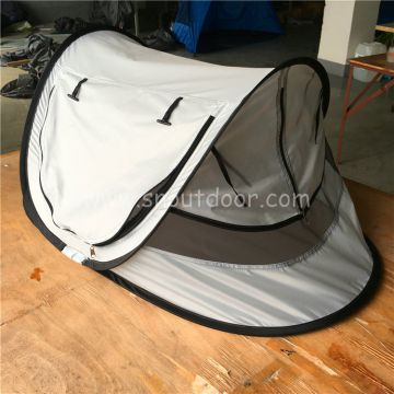 Foldable pop up baby mosquito net tent