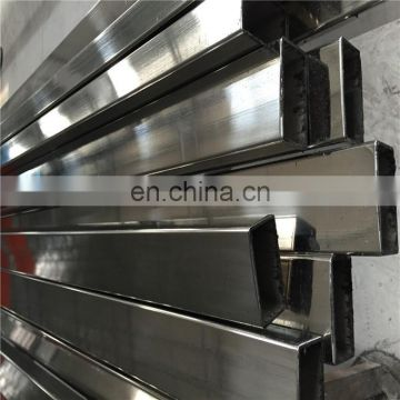 ss 347 201 304 stainless steel square tubes sizes