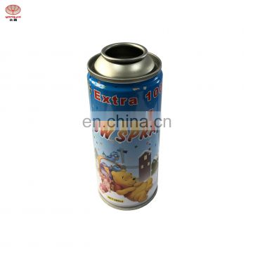52mm/65mm Hot sale empty aerosol spray paint can for snow spray can