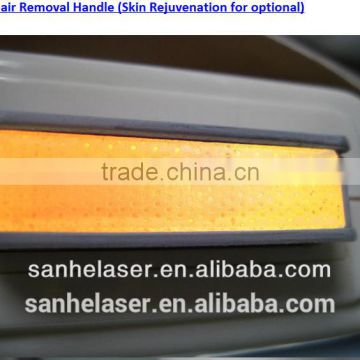 SHR IPL Hair Removal Machine / IPL Laser Shrink Trichopore Hair Removal SHR IPL / IPL SHR Hand Piece 590-1200nm