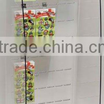 ornament acrylic slotted display stand