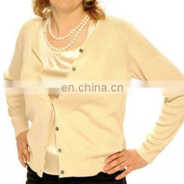 2014 women 100% knitted cashmere cardigan