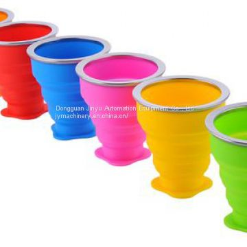 Coffee Cups Travel Silicone Portable Tea Cup for Outdoors Camping Hiking Picnic Folding Office Water Cups Making Machine