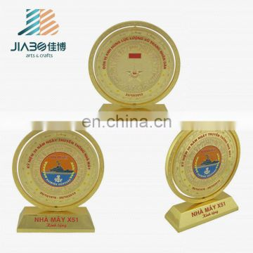 Awards metal trophy / quality custom sport metal trophy / corporate award trophy with customed