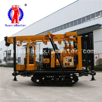 Huaxia Master supply XYD-200 Crawler type drilling rig for water well / 200m Water well drilling machinery for sale