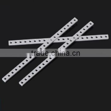 DIY technology car robot\ plastic strip 1115, production connecting rod fixed rod round hole