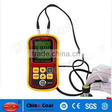 Digital Measuring Instrument Manufacturer GM100 Portable Ultrasonic Gauge Thickness Meter