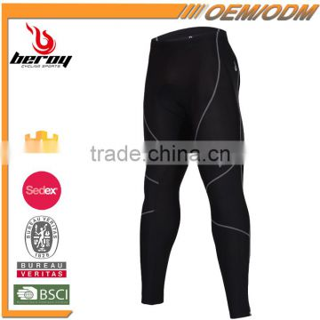 BEROY Antibiosis Moisture Wicking Cycling Pants Comparession Cycling Wear