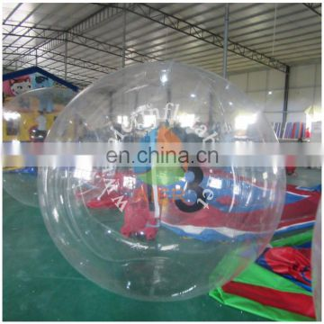 2016 Aier wholesale 2m diameter giant inflatable water ball/inflatable giant beach ball