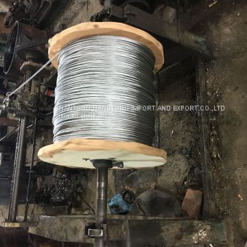 hot dip galvanized steel wire rope 7x7