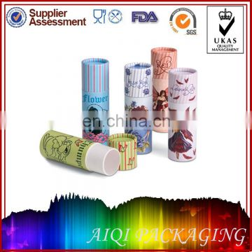Cute Round Empty Paper Lip Balm Container Wholesale