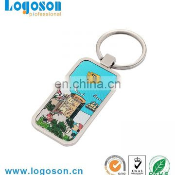 Promotional cheap custom keychain,custom made keychains