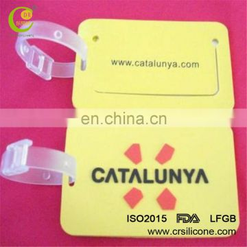 Direct Sale Custom Personalised Eco-Friendly Pvc Luggage Name Tags From Factory