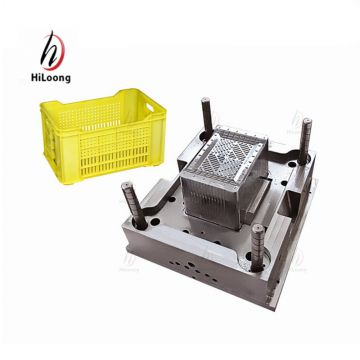 high quality steel products plastic crate mould