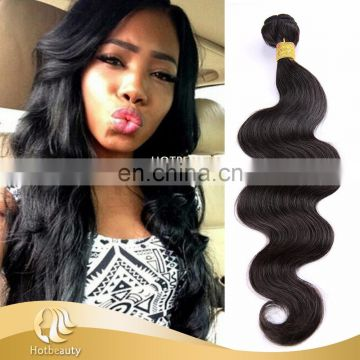 Double drawn weft Hair Extensions Hot Selling non processed brazillian