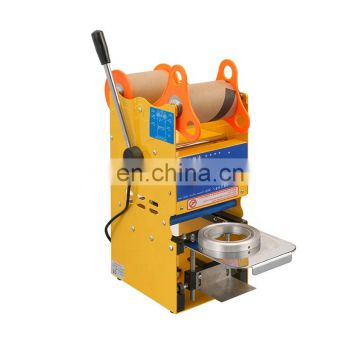 95mm 75mm Digital Semi-Automatic Manual Plastic Cup Sealing Cup Sealer Machine