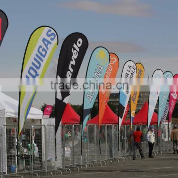 Cheap High Quality Custom Printing Waterproof Banner Flag Advertising Flag Beach Teardrop Flag                                                                         Quality Choice
