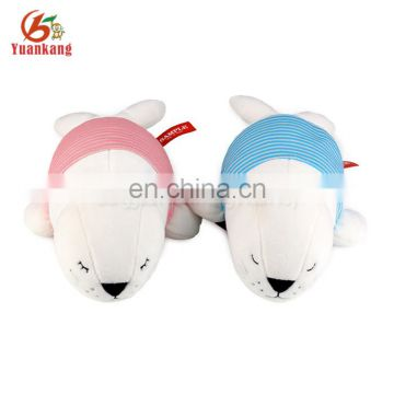 YK supplier persononized lovely stuffed toy dressed plush dolphin pillow for kids