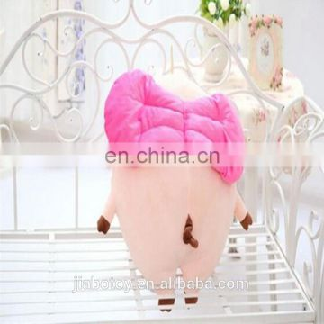 Promotional cartoon pig toy wholesale price custom stuffed toys plush animal toy design printed logo made in China