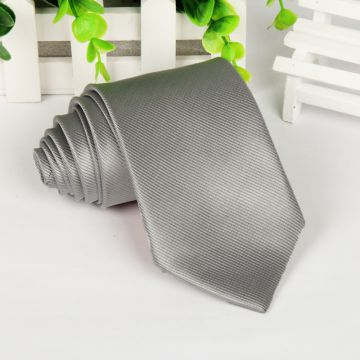 High Manscraft OEM ODM Polyester Woven Necktie Double-brushed Plain