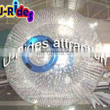 small pvc inflatable roller zorb ball