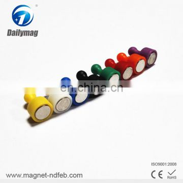 High quality unique flat magnet push pin