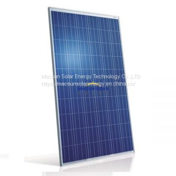Custom Made A Grade 270W Polycrystalline Solar Panel with a best price for commercial use