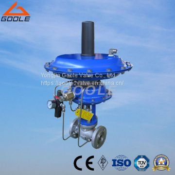 Pilot-Operated Automatic Pressure Regulating Valve (GAZZHP)