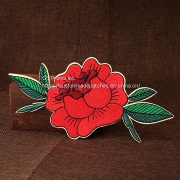 Custom Embroidered Patches | Flower Embroidered Patches