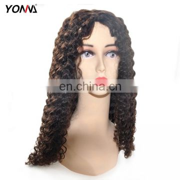 Qingdao Lace Wig Vendors Human Virgin Hair Wig Curly Lace Front Wig With Natural Hairline