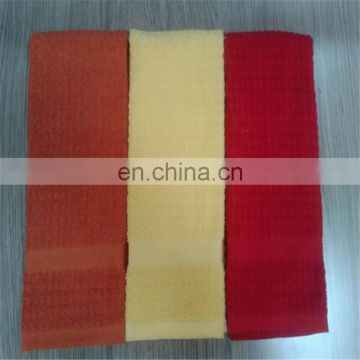 Hight quality products cotton terry kitchen towel