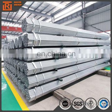 carbon steel welded pipe 48mm round galvanized steel pipe