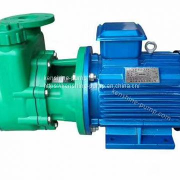 FZB plastic self priming chemical transfer pump