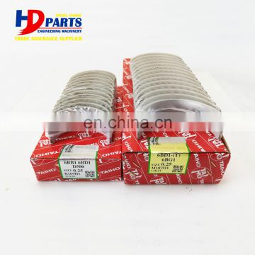 Diesel Engine Parts 6BG1 Main and Con Rod Bearing 0.25