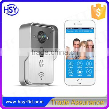 HSY-WF3 China supplier security camera system wireless hidden camera night vision infrared ip camera wifi doorbell