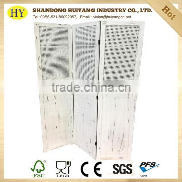 new design FSC custom wooden living room screen