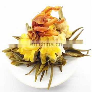 Carnation flower blooming tea for skin care