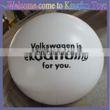 White inflatable air balloon for promotion