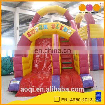 AOQI new style giant inflatable water slide for adult and kid for sale